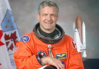 Marc Garneau accueil